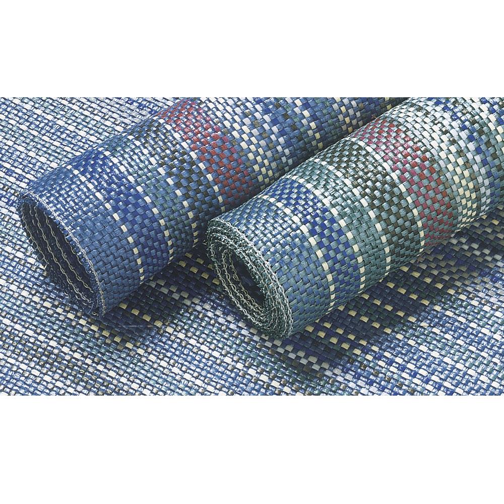 Blau Zeltteppich 250×450 Vorzeltteppich Campingteppich