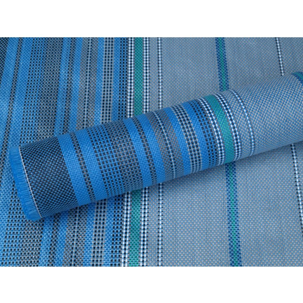 Blau Zeltteppich 250×350 Vorzeltteppich Campingteppich