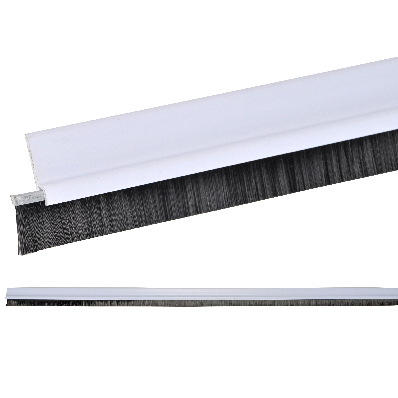 t rleiste mit b rste t rb rste b rstenleiste zugluftstop. Black Bedroom Furniture Sets. Home Design Ideas