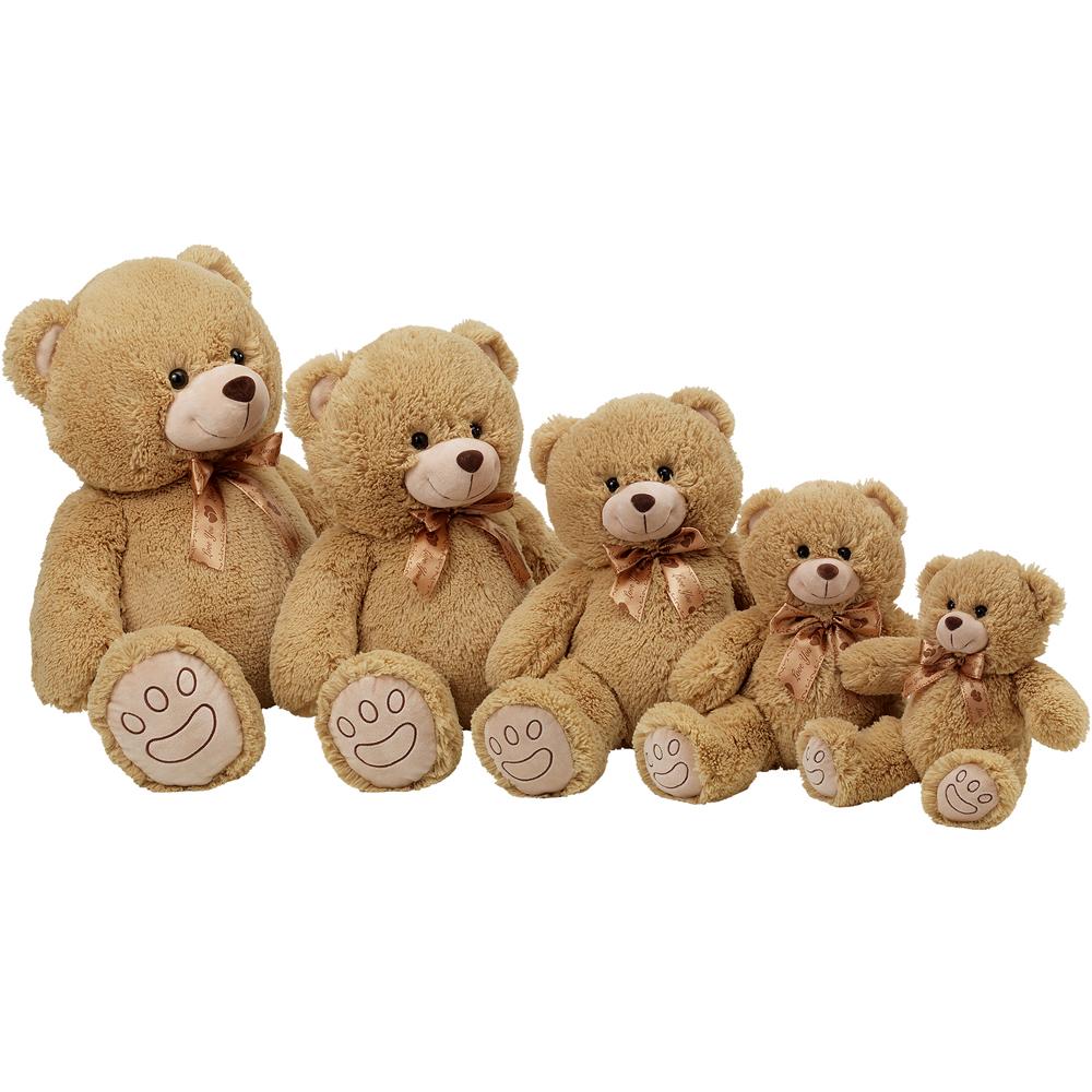 xl teddyb r 40cm gro teddy schmusetier kuscheltier pl schtier stofftier riesen ebay. Black Bedroom Furniture Sets. Home Design Ideas