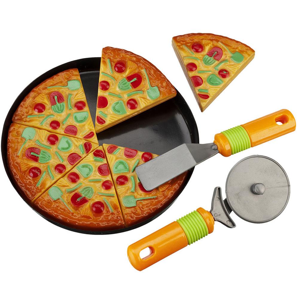 Pizza-Set Puppenservice für Kinderküche Spielküche Spielzeug ...