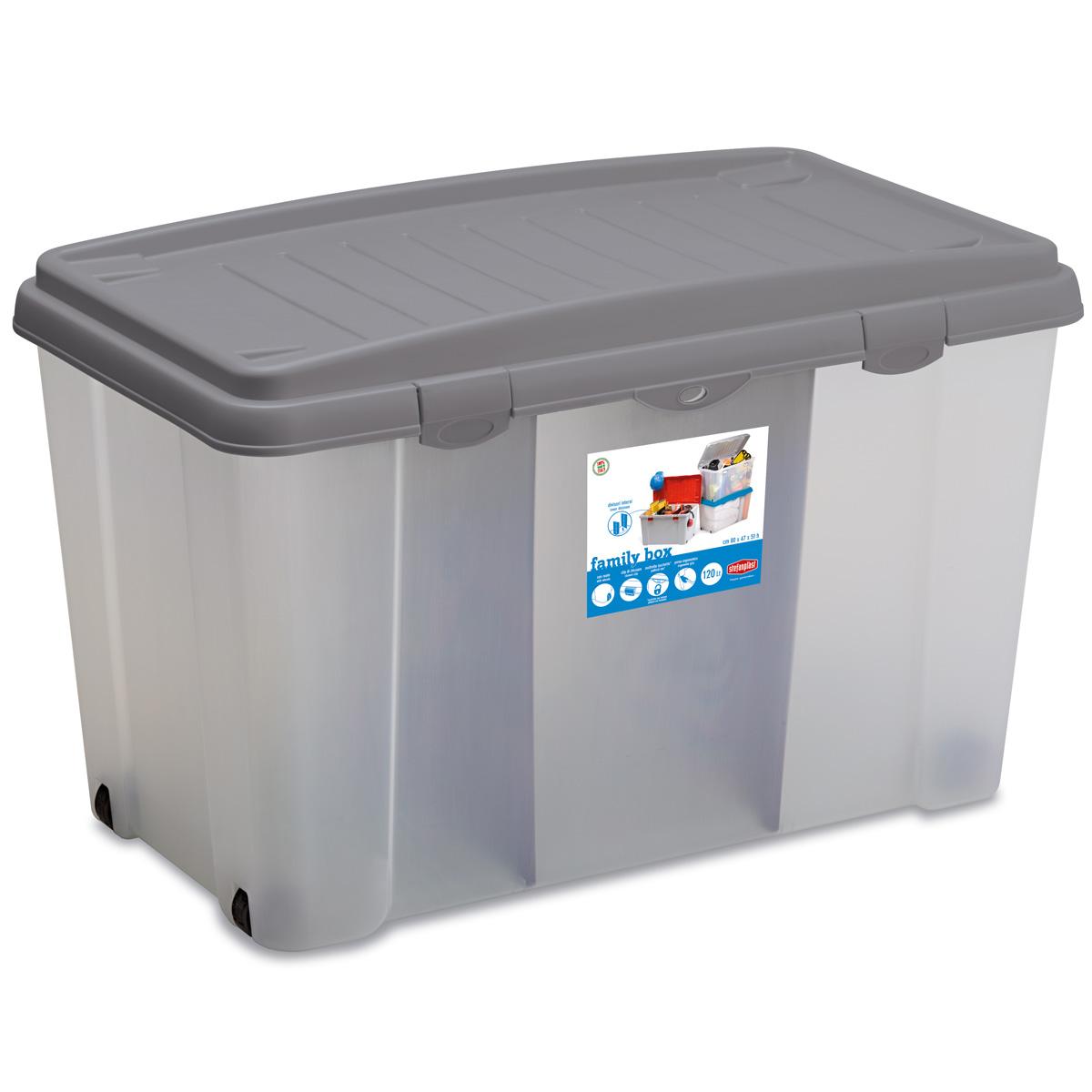 aufbewahrungsbox ordnungsbox spielzeugkiste kunststoffbox organizer mit deckel ebay. Black Bedroom Furniture Sets. Home Design Ideas