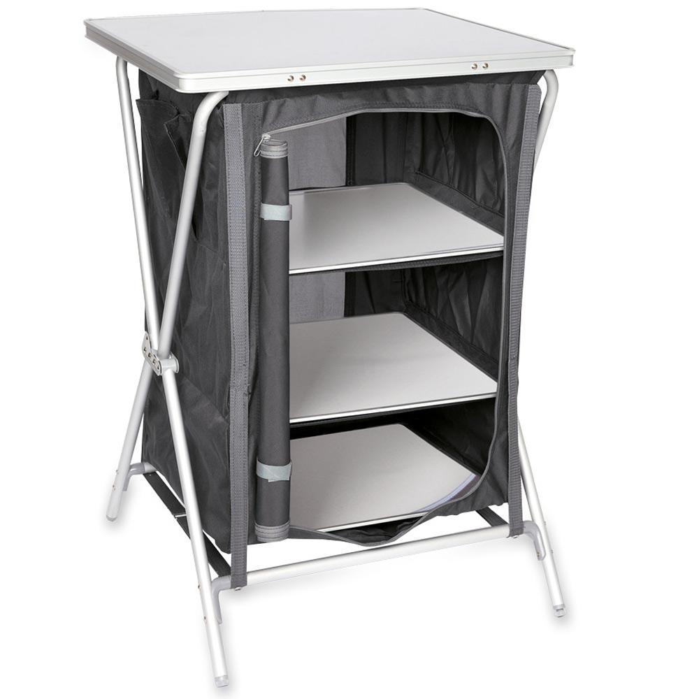 campingschrank camping k che schrank faltschrank campingk che stoffschrank 87 cm. Black Bedroom Furniture Sets. Home Design Ideas