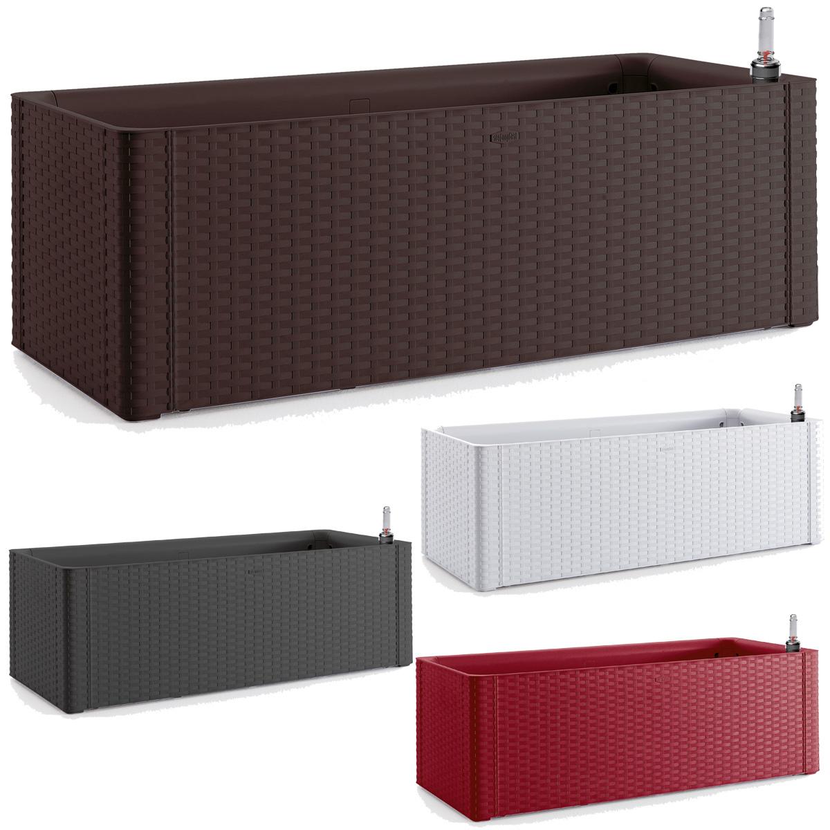 blumentopf balkonk bel blumenkasten pflanzkasten blumenk bel bew sserungssystem ebay. Black Bedroom Furniture Sets. Home Design Ideas