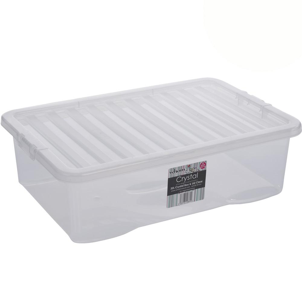 3x Unterbettkommode 32L Aufbewahrungs Box Stapel Kiste Multifunktions Spielzeug