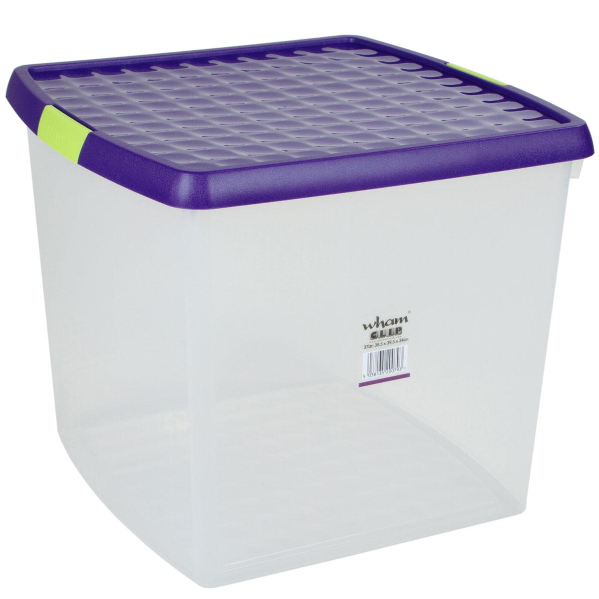 Aufbewahrungsbox-Deckel-Multifunktions-Box-Kunststoff-Spielzeug-Stapel-Kiste-XXL