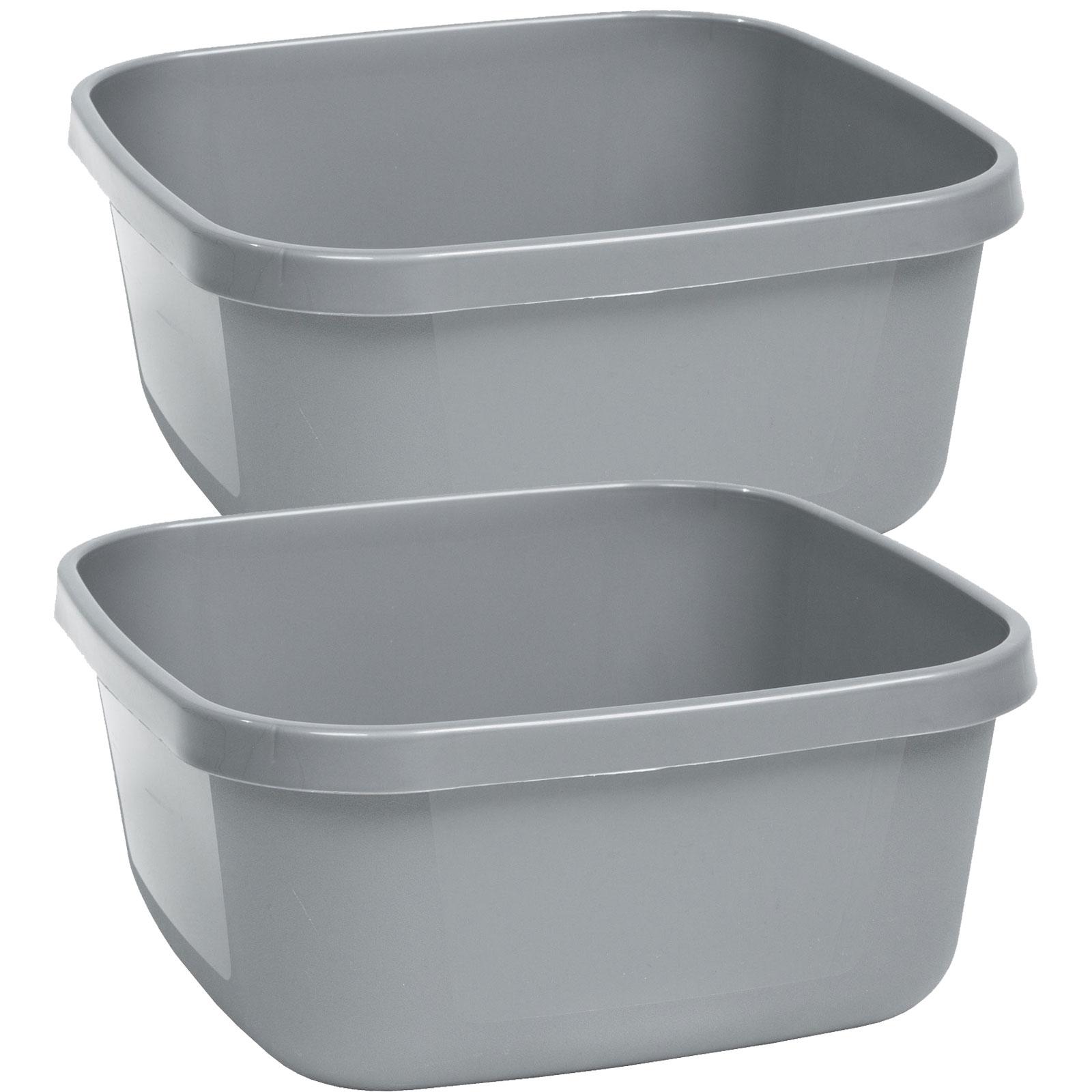 Waschschüssel 18,5Liter Campingschüssel Spülschüssel Spüle Plastikschüssel Eimer